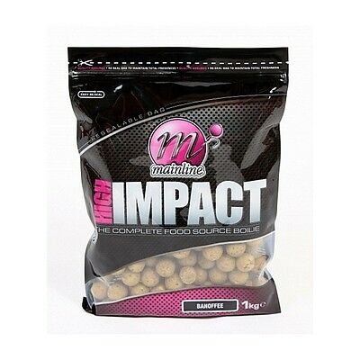 Mainline High Impact Complete Food Source Boilies 16mm - Banoffee