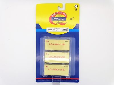 Columbus Line 20' Reefer Container 3-Pack HO - Athearn #28802 vmf121