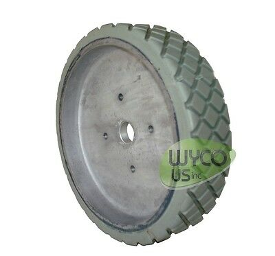 "8"" Wheel Assy, Tennant 5400, 5500, 5520, 2001Hd, 2401, 2601 Scrubbers, 613026"