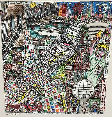 Rizzi James New York City Highway to the Sky x mas 2006 For Ralph 89/350