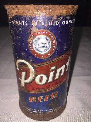 Point Beer Flat Top Beer Can