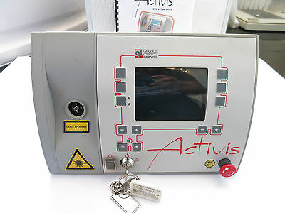 Quantel Medical Activis 689 Nm Portable Ophthalmic 635 Pdt Laser System*boxed*uk