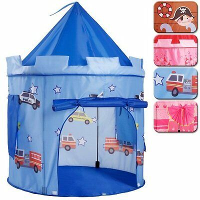 Infantastic Children''s Pop-Up Tent Play House Stars & Cars - blue Kids Boys Toy