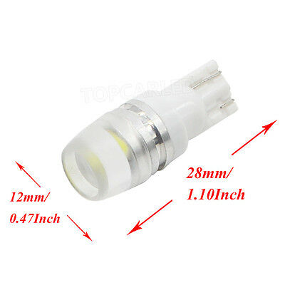 10pcs T10 Wedge 5730 Samsung High Power 1W LED Light Bulb Xenon White 168 194