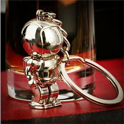 Creative Space Robot Astronaut Key Chain Ring Keyring Holiday Gift 1pc