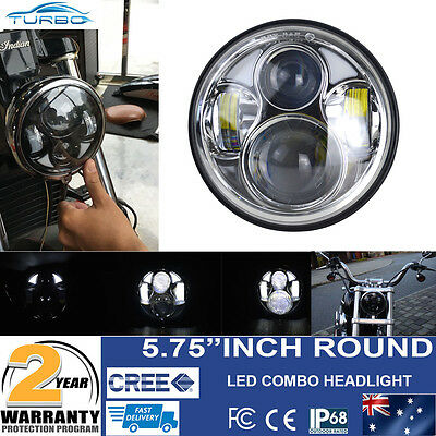 """5 3/4"""" LED Projector Daymaker Headlight For Harley Sportster XL 883 1200 Dyna"""
