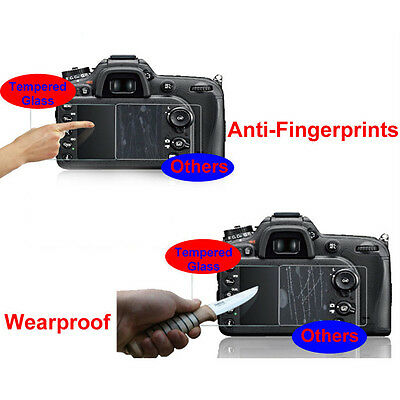 2x Hard Tempered Glass LCD Screen Guard Protector Film for Nikon D750 camera