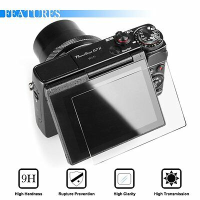 9H Tempered Glass Screen Protector Film FOR Canon G9 X G9X G7 X DSLR Camera