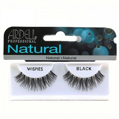 Ardell Invisibands Natural - WISPIES -  Strip False Eye Lashes in Black