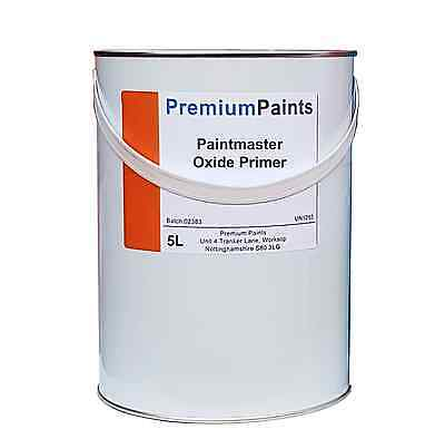 5 Litre Paintmaster Heavy Duty Anti-Corrosion Metal Oxide Primer - High Quality