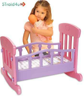 ORIGINAL Bed Toy Gift Baby Basics Baby Doll Cradle Fun Game For Your Girl