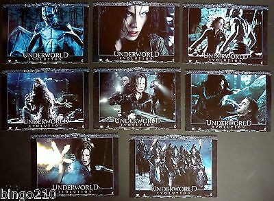 Underworld  Evolution Lobby Set  Kate Beckinsale Vampire Scott Speedman 2006