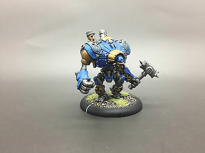 Privateer Press Warmachine Hordes Cygnar Ironclad Heavy Warjack Painted & Based