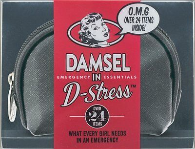 Danielle Damsel In D-Stress BLACK Emergency Essentials Kit