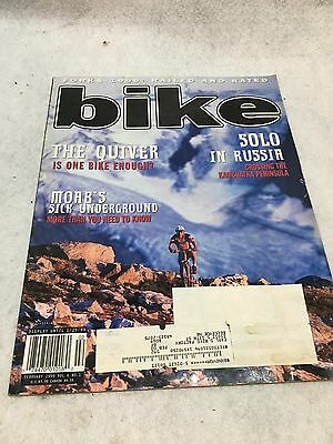 Nos Vintage Bike Magazine February 1999 Vol. 6 Issue No 1 Bmx Freestyle Racing