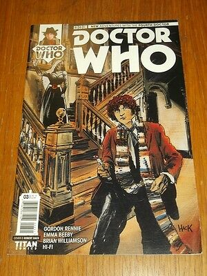 Doctor Who #3 Fourth Doctor Titan Comics Cover D July 2016