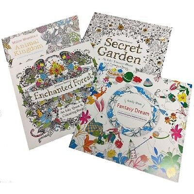Adult coloring books 4 Pack