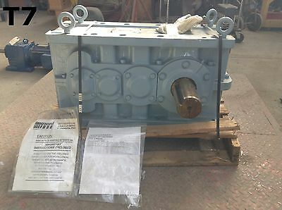 Rexnord Link-Belt D180-11VS-LC-2-40 Steel 43.8HP Gearbox / Speed Reducer 40.39:1