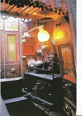 Canal Boats Postcard - Traditional Canal Boats - Narrow Boat Cabin  AB2450