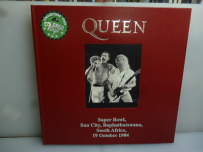 Queen-Sun City, South Africa 1984.-2Lp Blue Vinyl Hardcover Boxset.-New Sealed