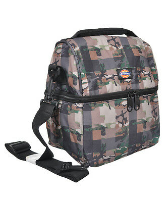 """Dickies """"Camo Check"""" Lunch Cooler - green camo, one size"""