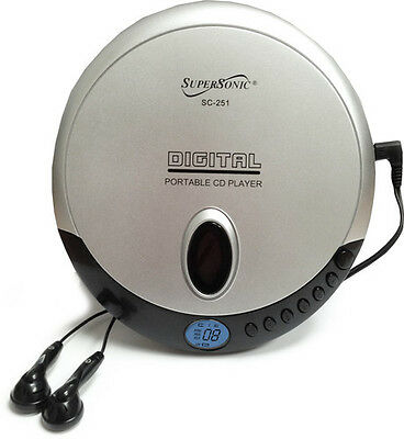Super Sonic SC-251 Personal CD Player - Misc