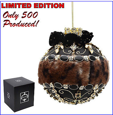 Mark Roberts Queen Safari Jeweled Ornament 2016 LIMITED EDITION 36-60280 NIGB FS