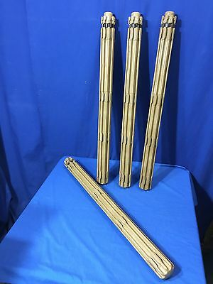 "Lot of 4 Community Playthings 32"" Posts Poles 8 sides for PLAY STATION AREAS"