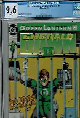 Green  Lantern Emerald Dawn Vol. II #1  CGC 9.6 DC 1991 Comic: NEW CGC Frame