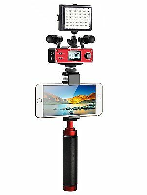 Saramonic Ultimate Smartphone Video Kit w/Stereo Microphones for iPhone/Android