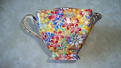 "Royal Winton Cream Pitcher, ""Wild Flowers"" , Grimswades England"