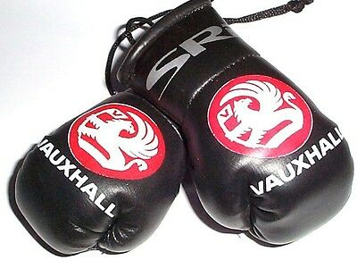Vauxhall SRI Mini Boxing Gloves for rear view mirror GIFT XMAS