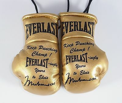 Mini Boxing Gloves replica Limited Edition Elvis Muhammad Ali Everlast