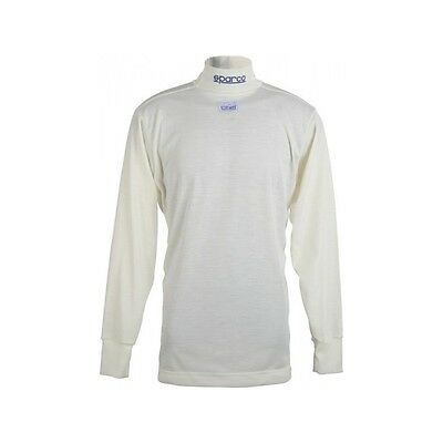 SPARCO Long Sleeve Soft Touch Small Shirt - Nomex Top Fireproof Racing Underwear
