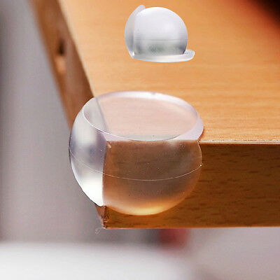 1/2pcs Clear Table Desk Corner Edge Guard Cushion Baby Safety Bumper Protector