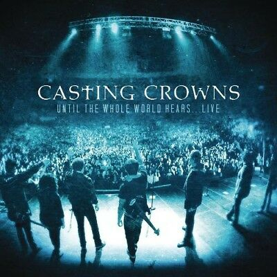 Casting Crowns - Until the Whole World Hears Live [New CD] With DVD, Brilliant B