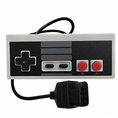 New-Replacement Controller Pad for Classic Nintendo Entertainment NES Game Retro