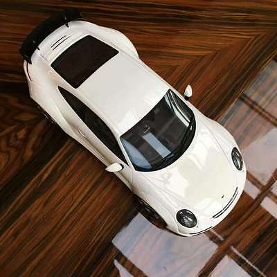 NEW GT Spirit 1/18 Porsche 911 RUF RGT resin car model 2015 white GT109 LE 991