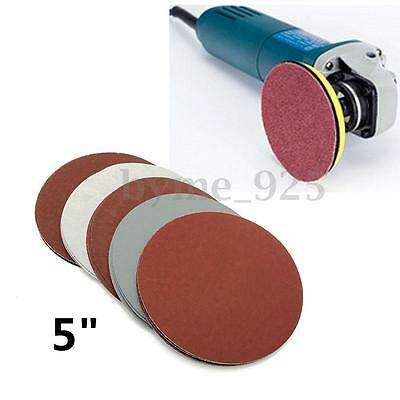 25pcs 125mm /5'' Grit 1000 1500 2000 2500 3000 Sanding Discs Hook Loop Sandpaper