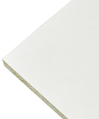 White Faced Conti Chipboard Furniture Board - 2.4m Length - Cheapest on eBay.