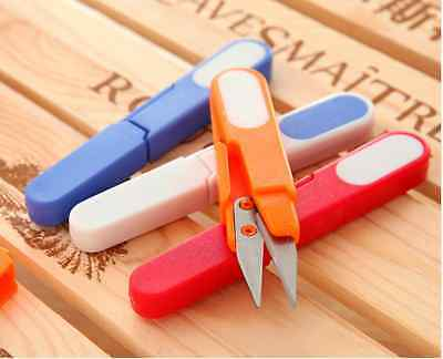 1 Embroidery Sewing Thrum Yarn Thread Cutter Scissors Clipper Snips&Safety Cover