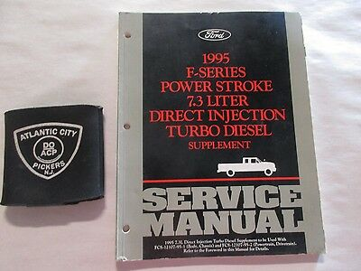 1995 F-Series Powerstroke 7.3L Direct Injection Turbo Diesel Supplement Manual