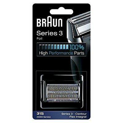 Braun Series 3 Electric Shaver Replacement Foil Cartridge, 31S