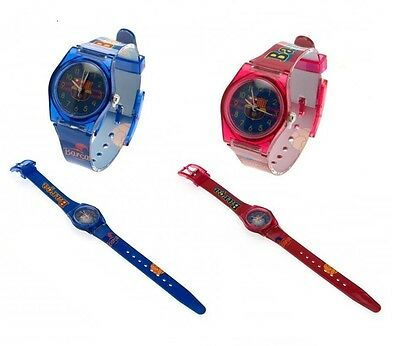 Official Football - F.C. Barcelona WATCH (Kids) Analogue (Supporters Gift/Time)