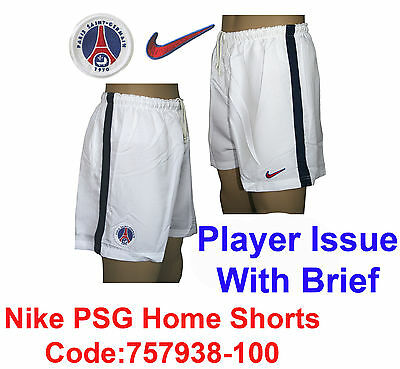PSG Shorts Player Issue Code;757938-100 Size Large (From the 1990's ?