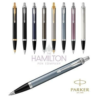 PARKER IM BALLPOINT PEN - Full range of 8 exclusive finishes available