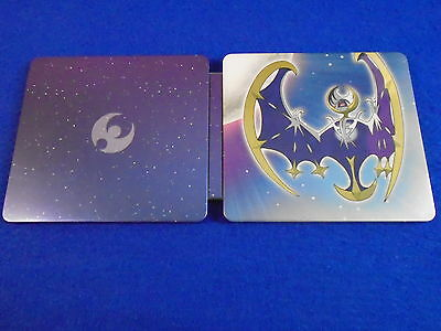 ds POKEMON MOON Steelbook TIN ONLY Steel Book NO GAME Fan Edition