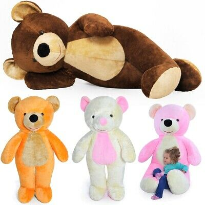 155cm Large Giant Big Teddy Bear Soft Plush Toys Gift Embroidery