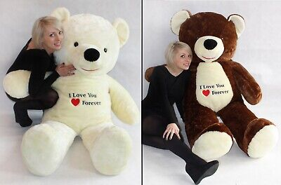 170cm Large Giant Big Teddy Bear Soft Plush Toys Gift Embroidery