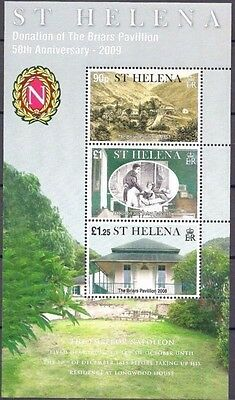 St Helena 2009 Emperor Napoleon/Briars Pavilion Building Architecture History NH